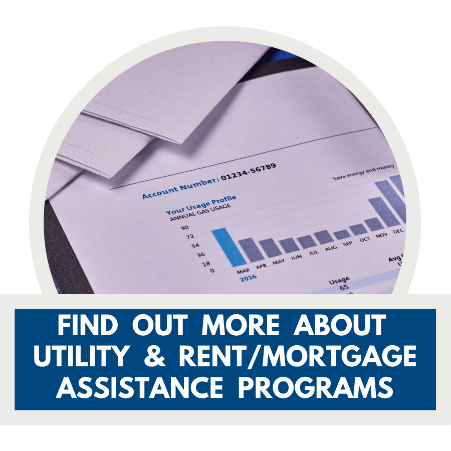 Utility assistance web banner