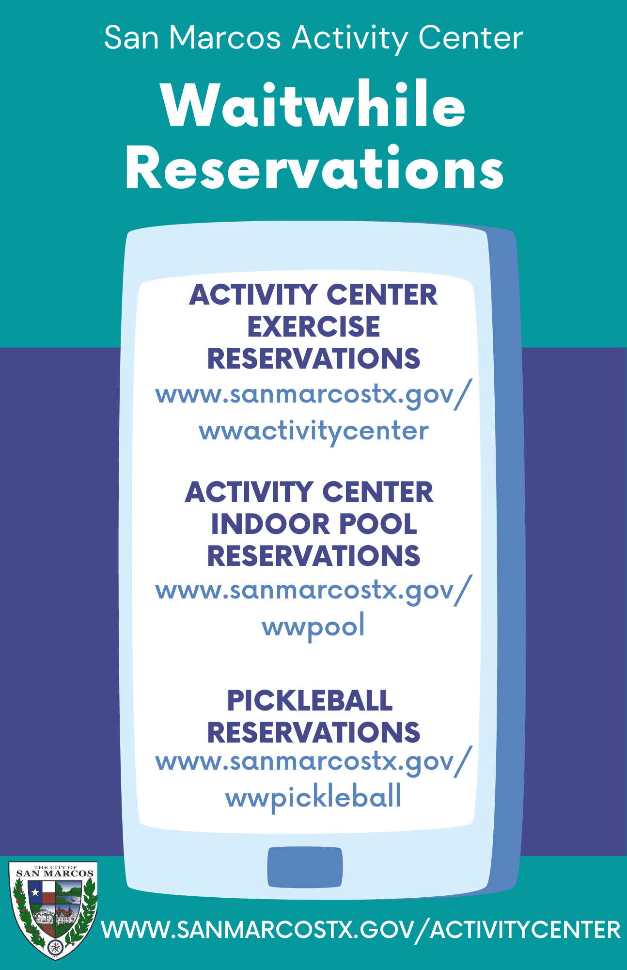 WW reservation flyer Opens in new window